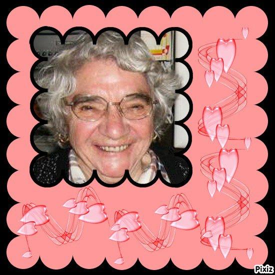 En ce 26 mars 2011 nous souhaitons un joyeux anniversaire a notre grand mere et arriere grand mere Gilberthe