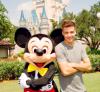 Liam et Mickey à Disneyland à Orlando le 11/09/2012