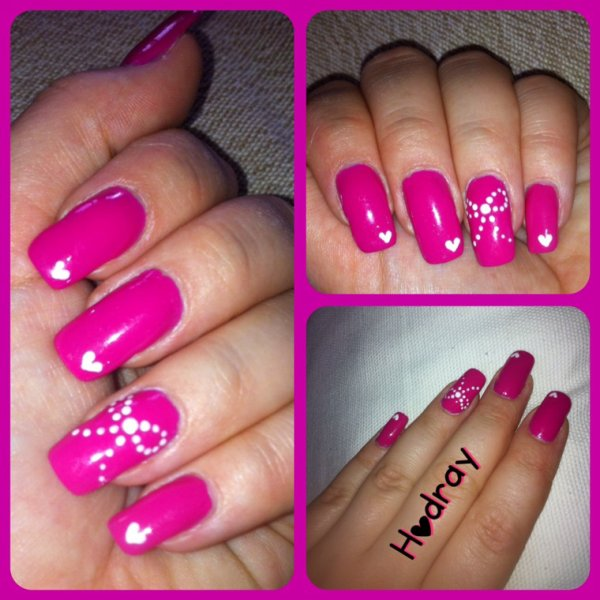 Nail art girly
