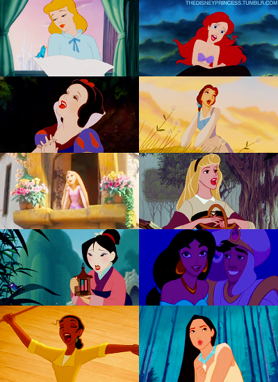 princesses chantantes