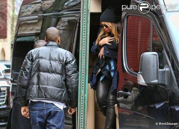 Beyoncé et Jay-Z : Première sortie en public de leur bébé, Blue Ivy Carter
