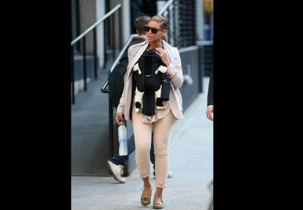 Beyoncé, une mère transformée La chanteuse a changé de style depuis la naissance de sa fille