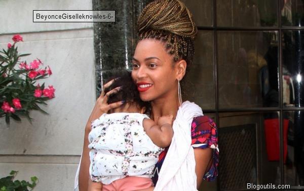 Beyoncé : Blue Ivy a bien grandi !