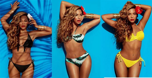 Beyoncé pose en bikini pour une campagne H&M