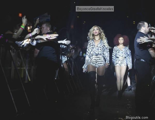 BEYONCE concert a Manchester