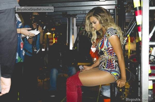 Beyonce en concert a  Londres