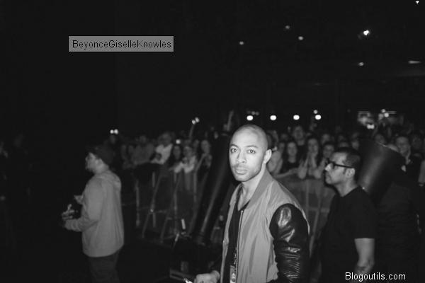 Beyonce en concert a Dublin