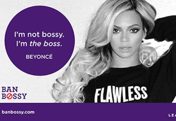 "La campagne féministe ""Ban Bossy"""