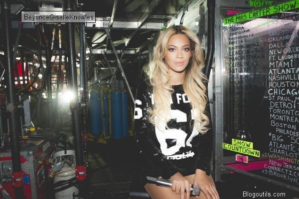 Beyonce a Anvers BELGIQUE a l occasion de son concert THE MRS CARTER SHOW WORLD TOUR