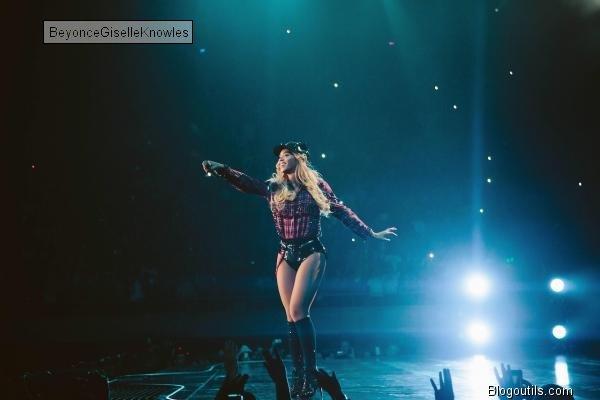 Beyonce  en concert  a Barcelone  ESPAGNE