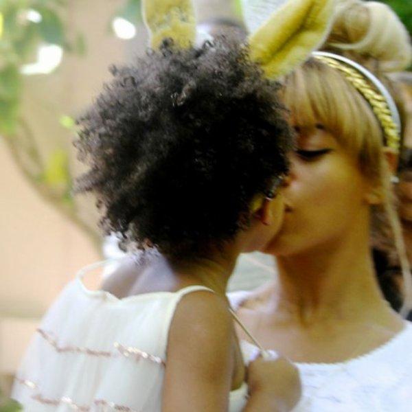 Une pétition pour que Beyoncé et Jay Z coiffent leur fille