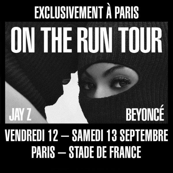RESERVEZ / Beyoncé et Jay-Z en double concert au Stade de France !