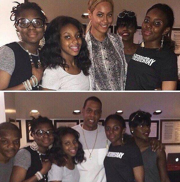 lettre émouvante., Beyoncé et Jay-Z à la rencontre de la famille de Freddie Gray,