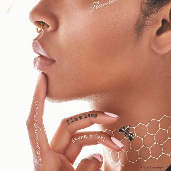 Beyoncé lance sa collection de tatouages éphémères   ,  Beyoncé s'offre des talons aiguilles à 285.000 euro