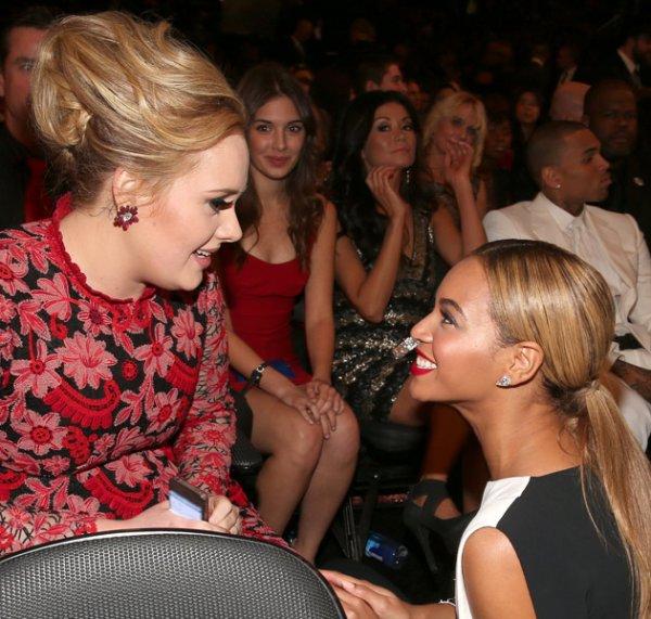 Adele reponds aux attaques concernant au refus de duo avec Beyonce