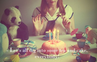 Bref, c'est mon anniversaire