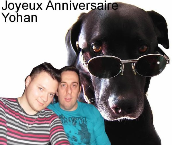 CADEAU DE NOTRE AMIE BLOGUEUSE MIAU88300 POUR L'ANNIVERSAIRE DE YOHAN