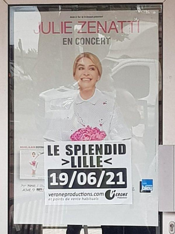 Le Concert de Julie Zenatti le 19 juin 2021 a Lille ( 10 )