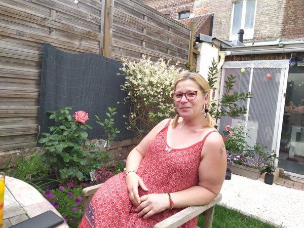 Notre amie Viviane chez nous le 20 juin 2021