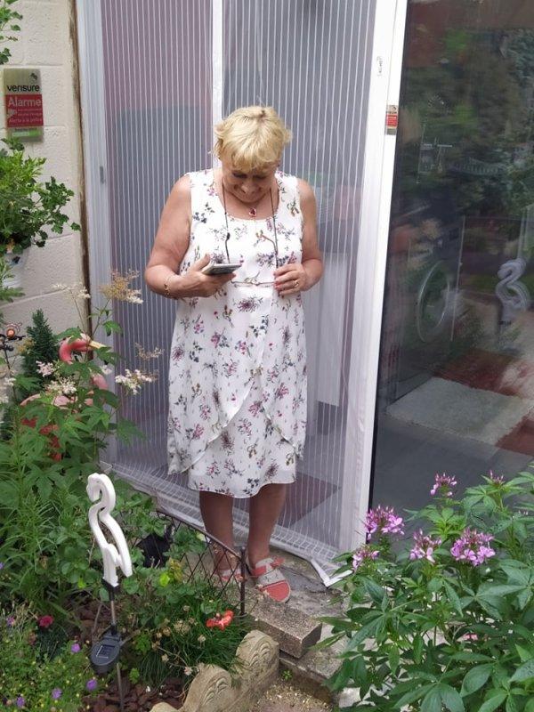 Nos amies : Patricia et Renée chez nous le samedi 3 juillet 2021 ( 1 )