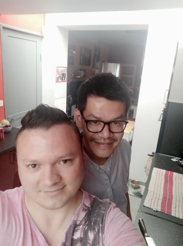 Notre ami Roger chez nous le samedi 3 juillet 2021 ( 3 )