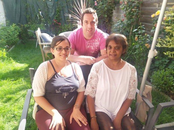Anne sophie et sa maman chez nous le 31 juillet 2021 ( 2 )