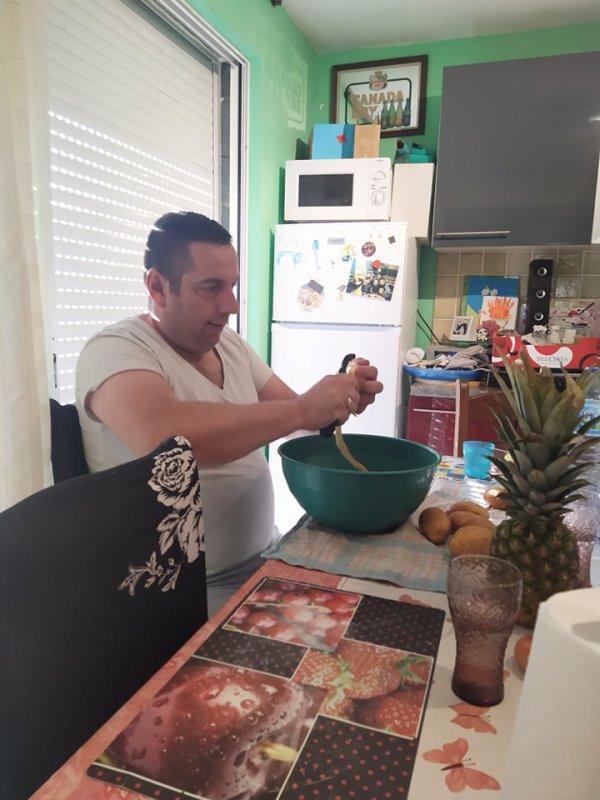 Chez mon frère Manuel et ma belle s½ur Marie du 12 au 16 aout 2021 ( 2 )
