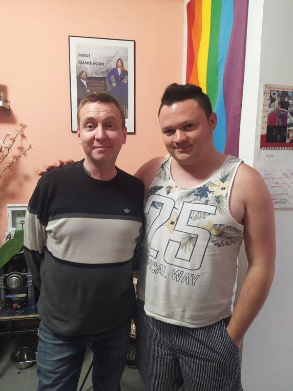 Notre ami sudiste Laurent chez nous le 24 aout 2021 ( 1 )