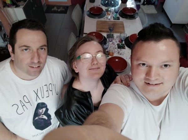 La maman de Fabrice et nos amis Mael et Emmeric et Juliette chez nous le 4 et 5 Septembre 2021 ( 2 )