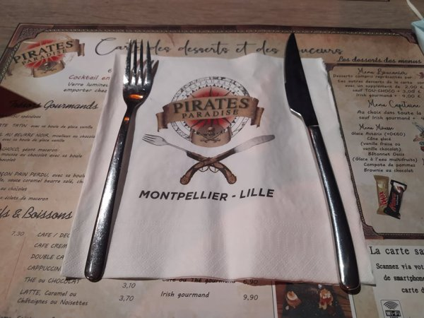 Restaurant Pirates Paradise Lille a Neuville en Ferrain avec nos amis Anne Sophie et Cathy le 17 octobre 2021 ( 6 )
