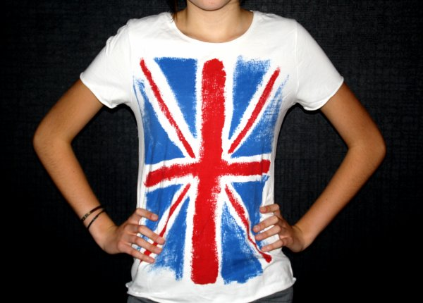 à vendre: tee shirt drapeau de l'angleterre