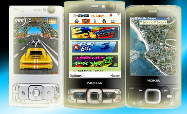 Nokia N95 (S60v3) - Applications & Jeux