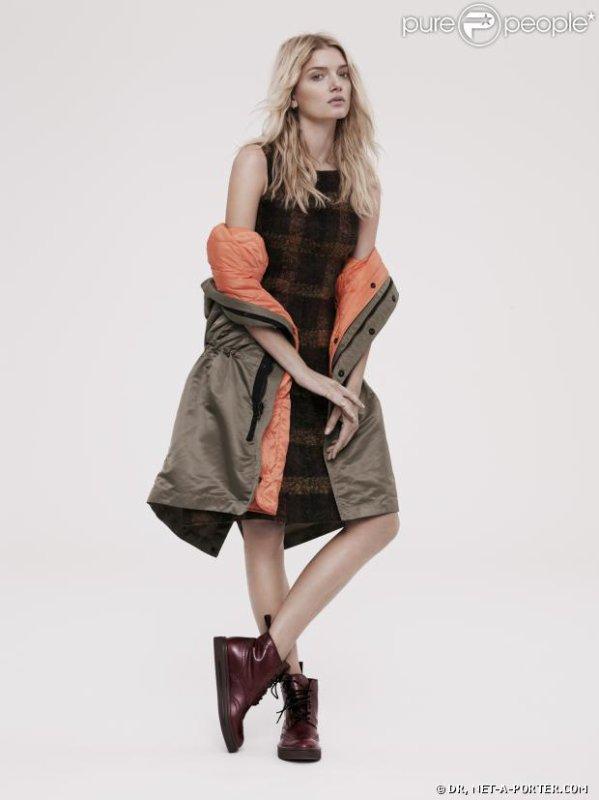 La superbe Lily Donalson prend la pose pour le magazine The Edit de Net-A-Porter.com
