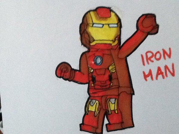 Blog de marvel portrait marvel fanart - Dessin iron man ...