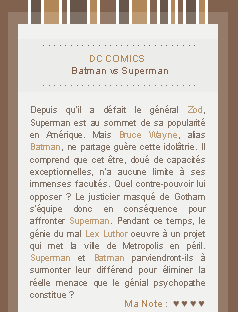 x x x Superman vs Batman : Dawn of Justice sur BreatheYourLifeIntoMe.skyrock.com  » You were never a god. You were never even a man._____________________________________________Création || Décoration