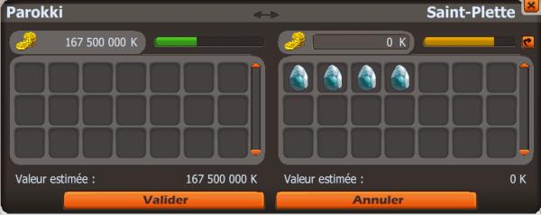 Objectif ==> 100 dofus turquoise en 3 mois ! 40 jours plus tard.