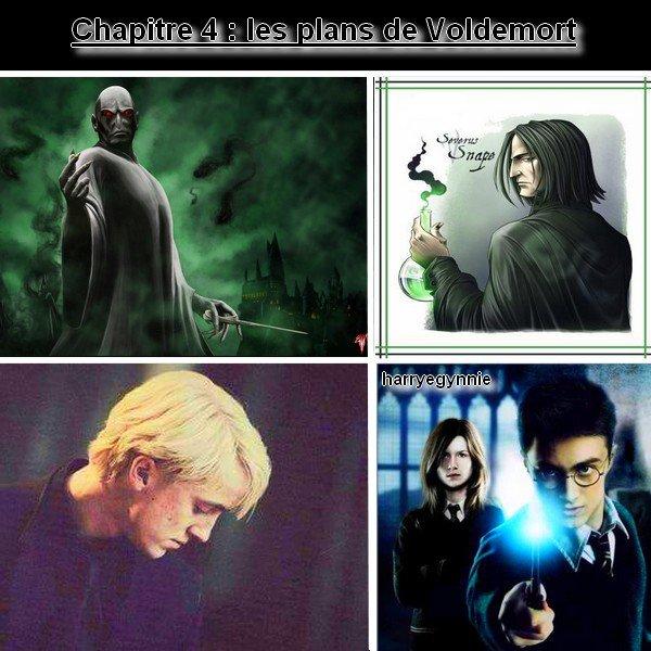 Chapitre 4 : les plans de Voldemort (chapitre modifié le 03/03/2018)