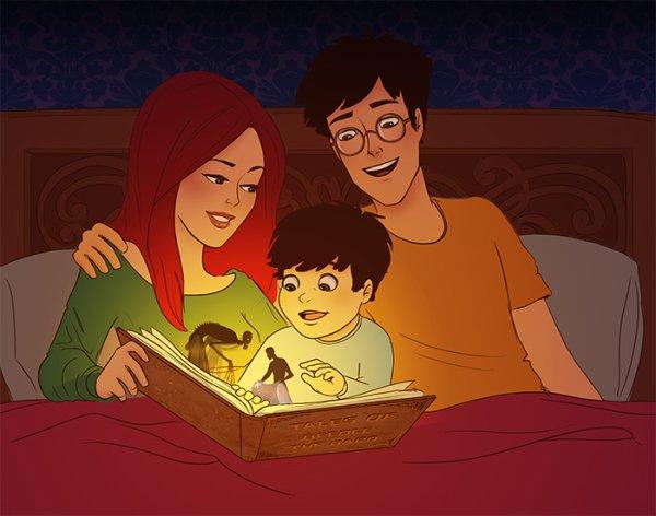 image Harry potter (harry et ses amie, harry et ginny et ron et hermione) :=) (joyeux anniversaire a mon blog ;=)