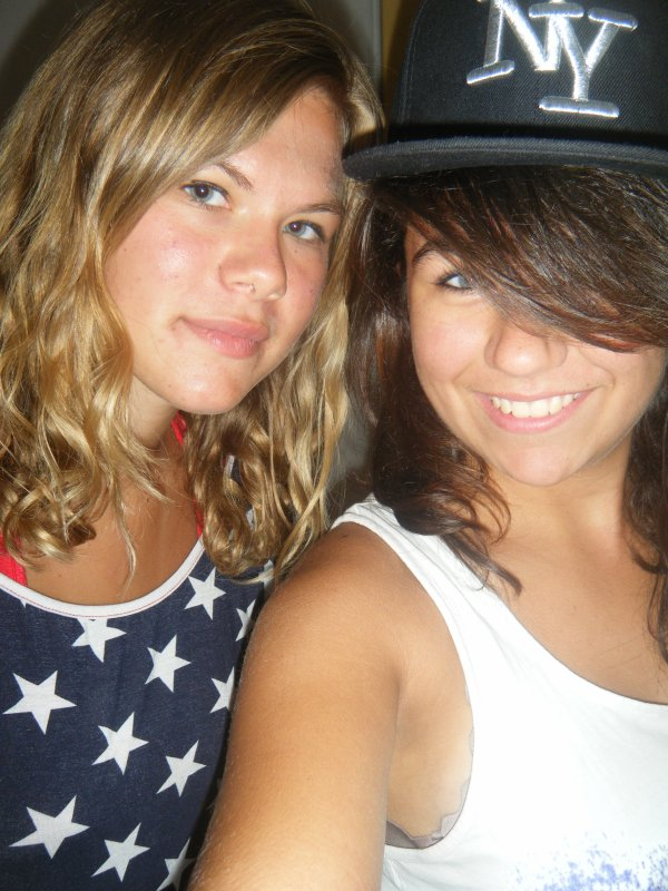La Blondasse & La Rebelle! <3.