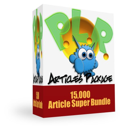 Monster PLR Article Package the PLR content EVERY webmaster needs!
