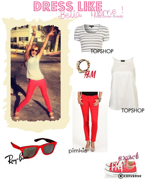 Semaine back to school : on commence avec un dress like ! :)