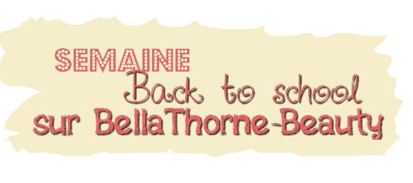 Semaine back to school : Tuto nail art en collaboration avec ThorneBella