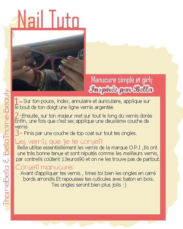 Semaine back to school : Tuto nail art en collaboration avec ThorneBella