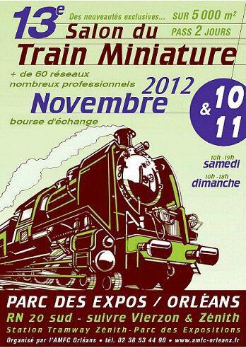 Affiche de notre expo 2012