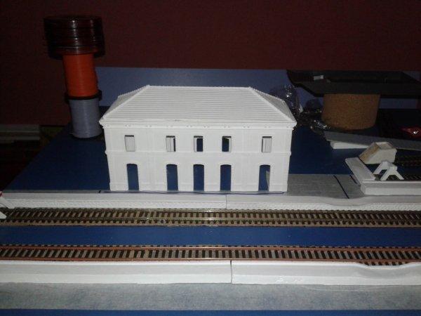 Montage de gare