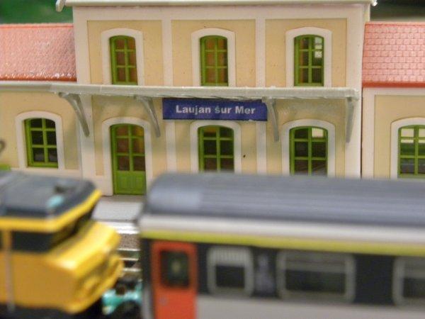 La gare en travaux.
