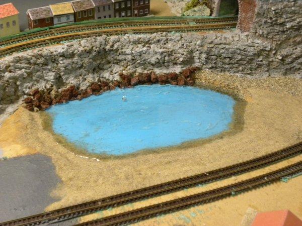 Création d'une pièce d'eau !!