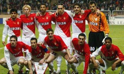 Equipe de l' AS Monaco 2003-2004