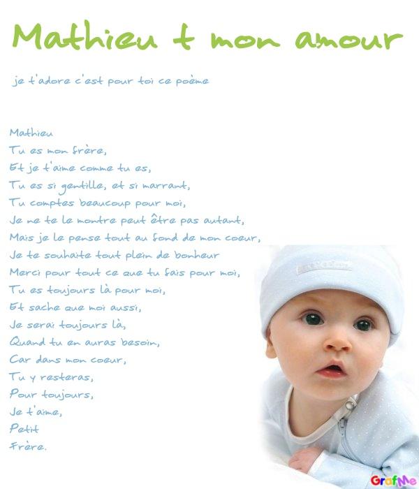 Petit Poème Pour Toi Mon Frere Blog De Misscharlene2