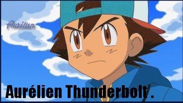 Asuka Grant , Maka Holly et Aurelien Thunderbolt .